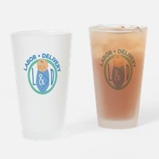 Labor And Delivery Drinking Glass