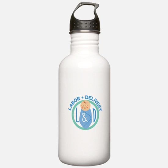 Labor And Delivery Water Bottle