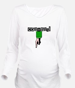 Cute Imaginary friend Long Sleeve Maternity T-Shirt