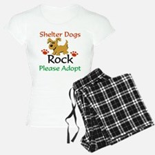 Shelter Dogs Rock Please Adopt Pajamas