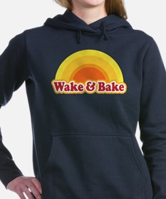 Wake and Bake Women's Hooded Sweatshirt