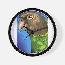 Senegal Parrot Wall Clock