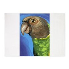 Senegal Parrot 5'x7'Area Rug