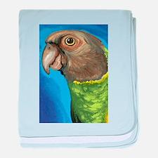 Senegal Parrot baby blanket