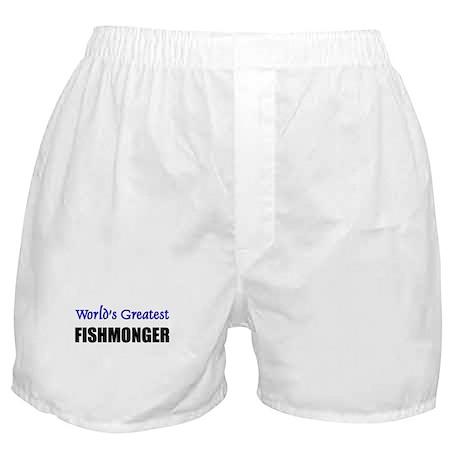 Worlds Greatest FISHMONGER Boxer Shorts