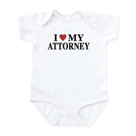 Love My Attorney Infant Bodysuit