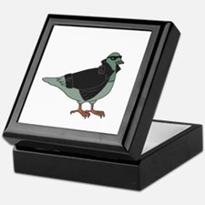 Cool Pigeon Keepsake Box