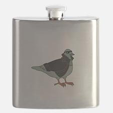 Cool Pigeon Flask