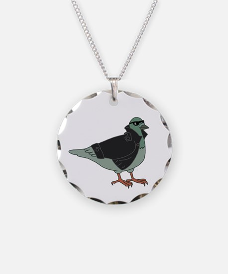 Cool Pigeon Necklace