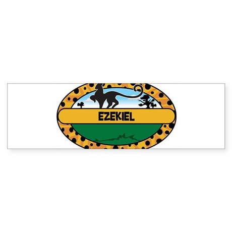 EZEKIEL - safari Bumper Sticker