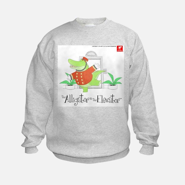 The Alligator in the Elevator Sweatshirt
