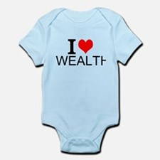 I Love Wealth Body Suit
