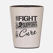 Fight Melanoma Shot Glass