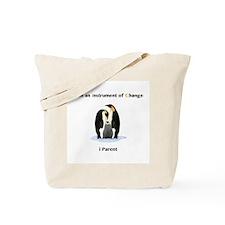 Instruments of Change Penguin Parents Tote Bag
