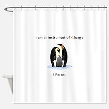 Instruments of Change Penguin Parents Shower Curta