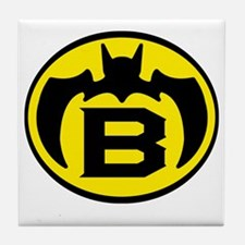 Super B Hero Logo Costume 04 Tile Coaster