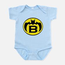 Super B Hero Logo Costume 04 Body Suit