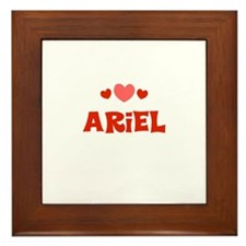Ariel Framed Tile