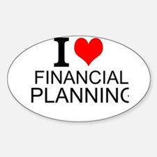 I Love Financial Planning Decal