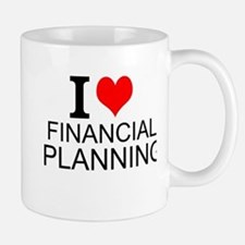 I Love Financial Planning Mugs