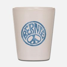 60s Peace Bernie Shot Glass