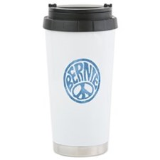 60s Peace Bernie Travel Mug