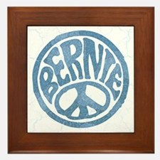 60s Peace Bernie Framed Tile