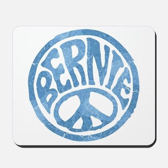 60s Peace Bernie Mousepad