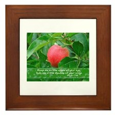 Apple Of His Eye Framed Tile