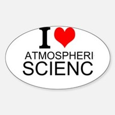 I Love Atmospheric Science Decal