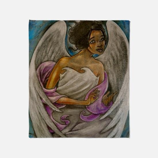 Unique Angels Throw Blanket