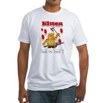 Kitten Trick or Treat ? Fitted T-Shirt