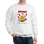 Kitten Trick or Treat ? Sweatshirt