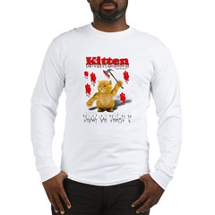 Kitten Trick or Treat ? Long Sleeve T-Shirt