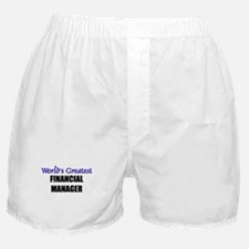 Worlds Greatest FINANCIAL MANAGER Boxer Shorts