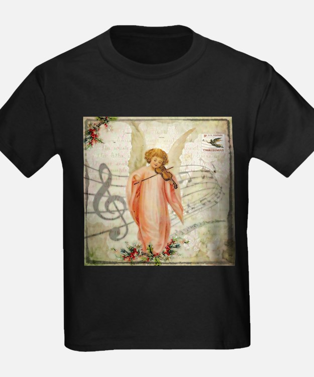 Vintage Christmas Angel T-Shirt