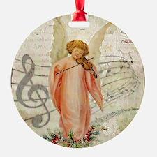 Vintage Christmas Angel Ornament