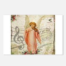 Vintage Christmas Angel Postcards (Package of 8)