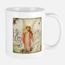 Vintage Christmas Angel Mugs