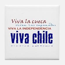 Viva lo Chileno Tile Coaster