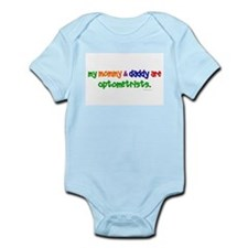 My Mommy & Daddy Are Optometrists Infant Bodysuit