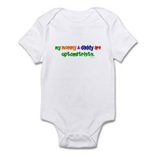 My Mommy & Daddy Are Optometrists Onesie