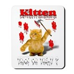 Kitten Trick or Treat ? Mousepad