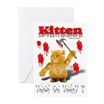 Kitten Trick or Treat ? Greeting Cards (Pk of 10)