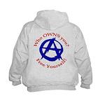 Anarchy-Free Yourself Kids Hoodie