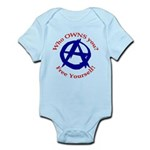 Anarchy-Free Yourself Infant Bodysuit