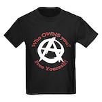 Anarchy-Free Yourself Kids Dark T-Shirt