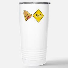 bellend bell end sign b Travel Mug