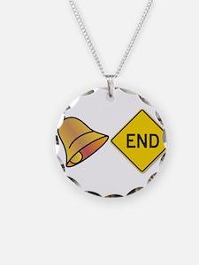 bellend bell end sign bells Necklace