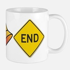 bellend bell end sign bells Mugs